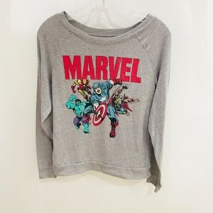 Marvel Graphic Long Sleeve Sweater